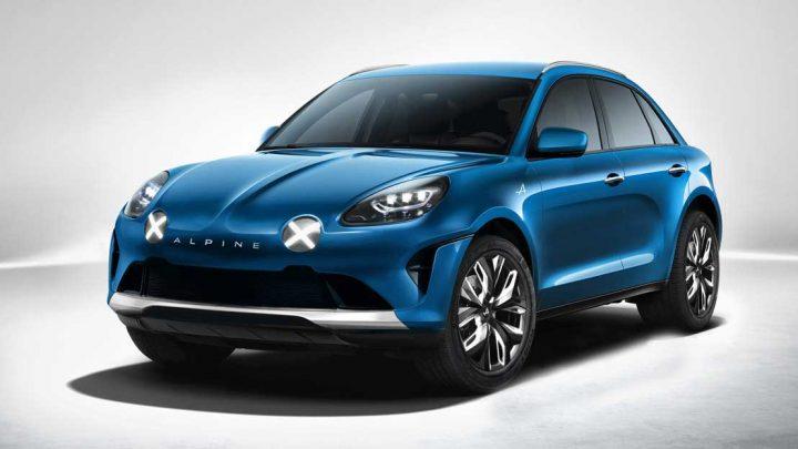 Un SUV Alpine ! La marque de voiture de sport de Renault pour l'hors piste