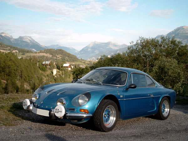 Alpine berlinette occasion